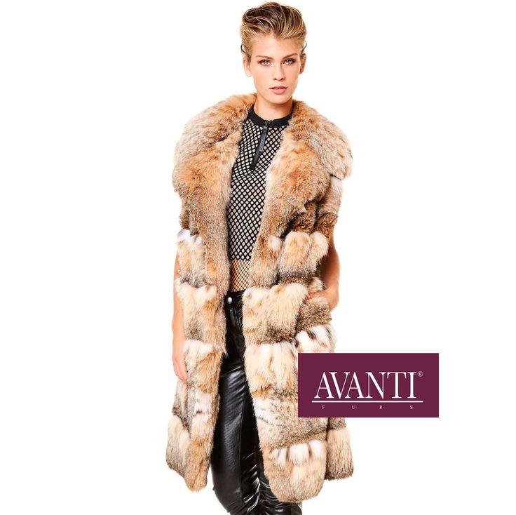 AVANTI FURS - MODEL: ARTEMISIA 3ZG CAT LYNX VEST   #avantifurs #fur #fashion #mink #luxury #musthave #мех #шуба #стиль #норка #зима #красота #мода #topfurexperts