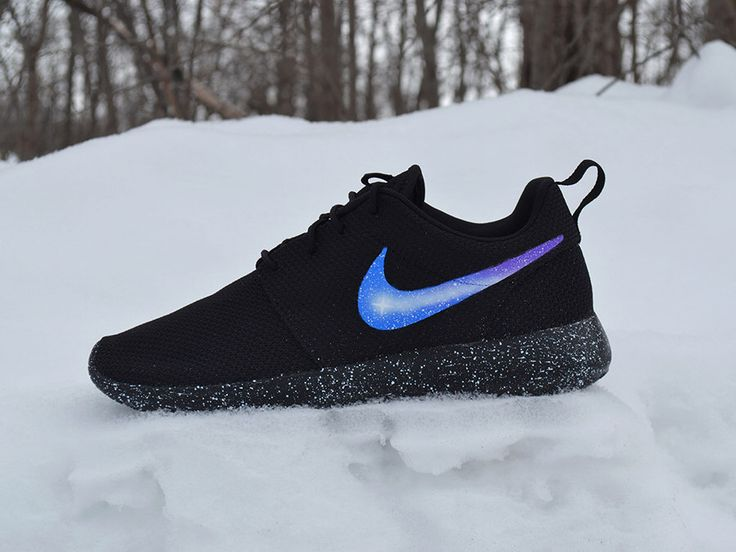 Nike Roshe Run Custom Painted Galaxy Roshes by UnleashedKustoms on Etsy https://www.etsy.com/listing/250040350/nike-roshe-run-custom-painted-galaxy