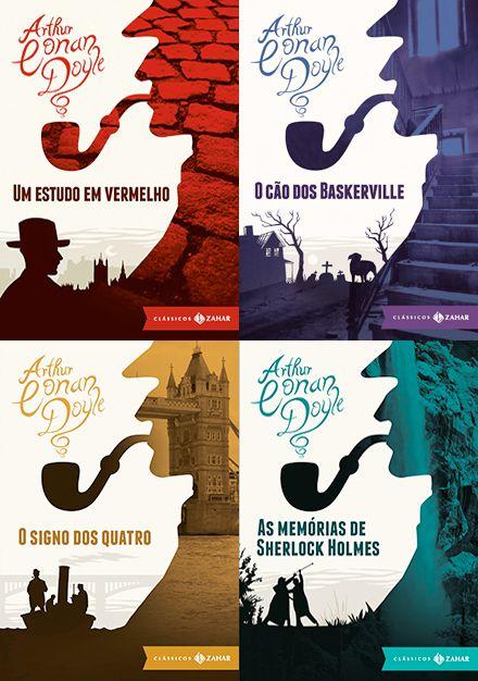 Encontrei Sherlock Holmes por acaso, durante meu curso de espanhol (ou inglês, não estou lembrando muito bem), há muito tempo