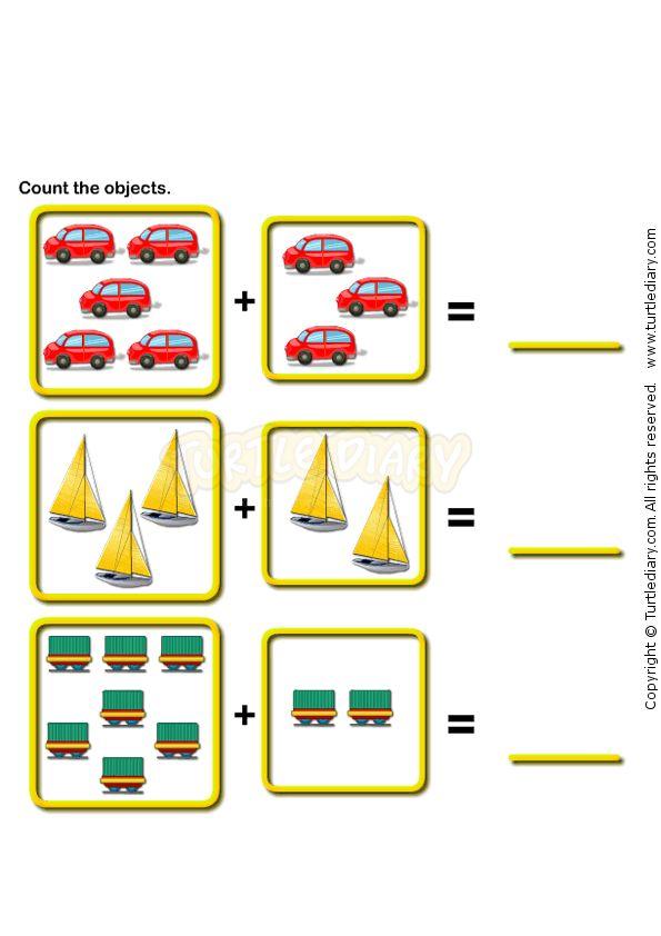 Math Worksheets ?» Printable Math Worksheets For Kindergarten ...