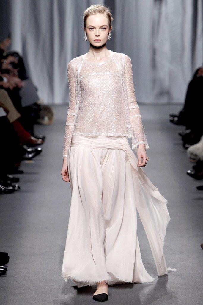 Chanel Spring 2011 Couture Fashion Show - Siri Tollerød
