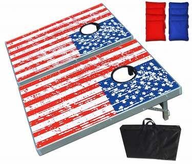 Best Tailgating Gear- American Flag Cornhole Boards