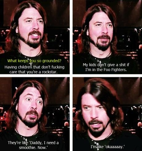 Dave Grohl: This Man, Laughing, Funny Pics, Foo Fighter, Be A Dads, Dave Grohl, Davegrohl, Humor, Kids