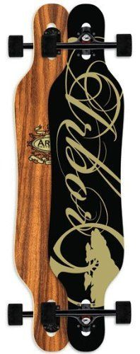 """Arbor Genesis 42"""" Complete Longboard Skateboard by Arbor. $229.95. Arbor Longboard Deck - Measures 42"""". 180mm ProRide Black Reverse Kingpin Longboard Trucks. Comes Completely Assembled and Ready to Ride!. 70mm 78a Solid Black Pro Longboard Wheels. Clear Grip Tape Sprayed on by Arbor, Oiled Abec 5 Bearings. Arbor Genesis 42"""" Complete Longboard : A cambered, symmetrical, fiberglass reinforced drop-through built to deliver slide and carve performance while maintaining a ..."""