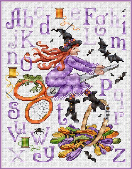 Witch's Stitches - Cross Stitch Pattern