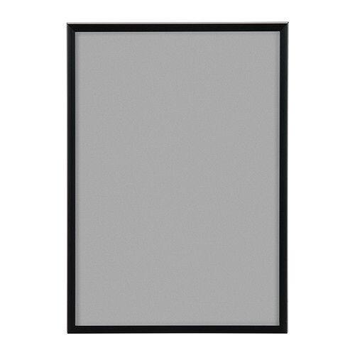 Smal sort ramme i størrelsen: 60x90cm og 50x60cm og 50x70
