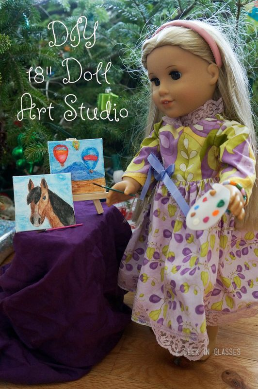 AG DIY Art Studio by A Geek In Glasses blog