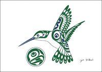 Hummingbird By Joe Wilson