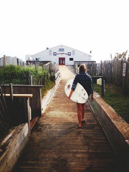 Image de girl, summer, and beach