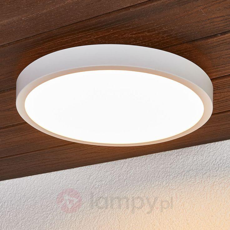 Okrągła lampa sufitowa LED Liyan biała bezpieczne & wygodne zakupy w sklepie internetowym Lampy.pl.