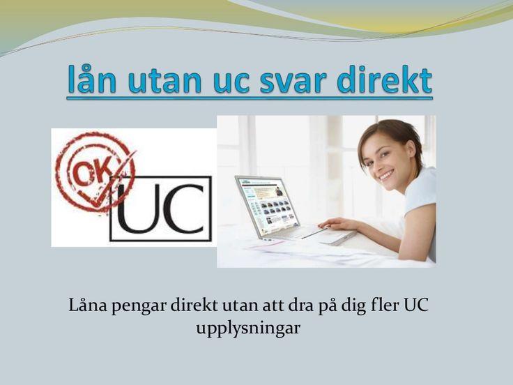 Smslån utan UC