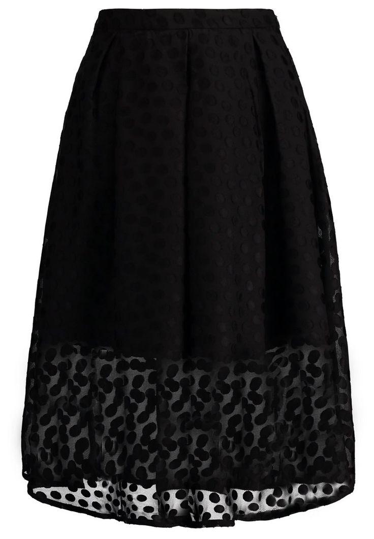 Spódnica plisowana black