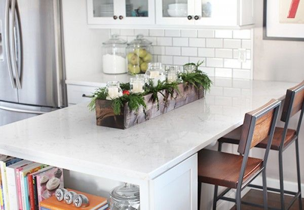 Check out how to build a DIY rustic countertop centerpiece @istandarddesign