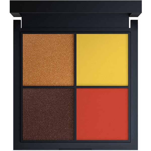 Jay Manuel Beauty Intense Color Eyeshadow Quad, Loud 0.05 oz (1.5 ml) found on Polyvore featuring beauty products, makeup, eye makeup, eyeshadow and beauty
