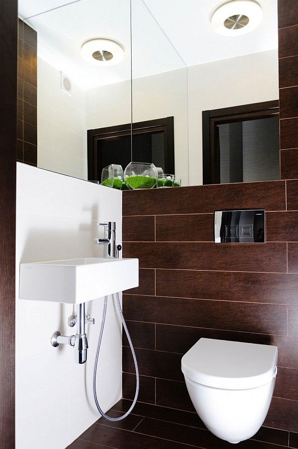 Brown And White Bathroom. Contemporary Apartment in Ukraine With Stylish Furniture  Purple Hues by Eno Getiashvili 231 best BATHROOM CREAM BROWN images on Pinterest Bathroom