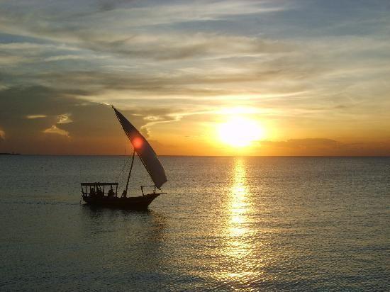 Zanzibar Archipelago, Tanzania #sunset