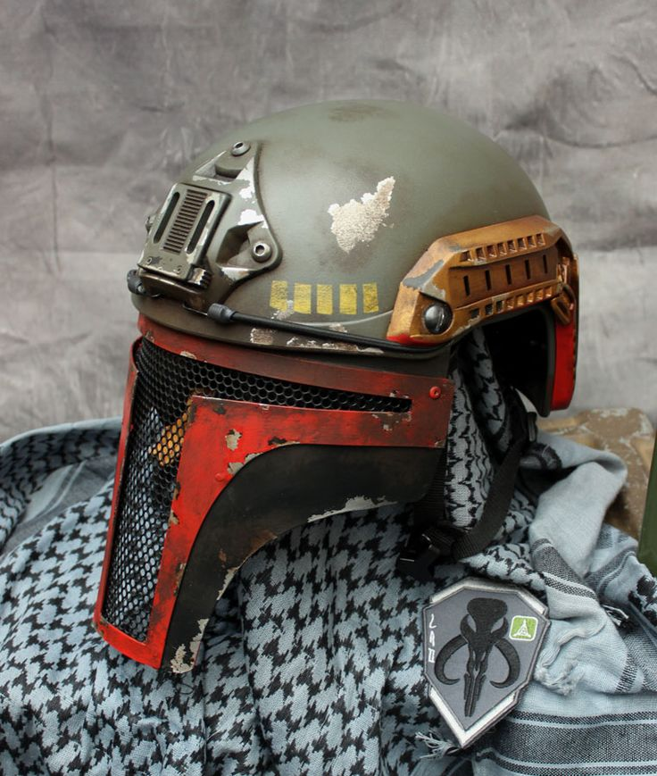 custom painted airsoft helmet