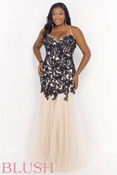 Plus size fitted dresses online