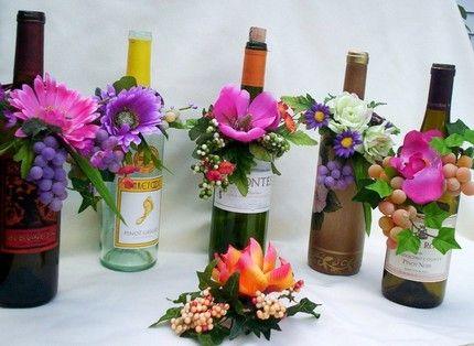 botellas de licor decoradas para centro de mesa tuevent fotolog