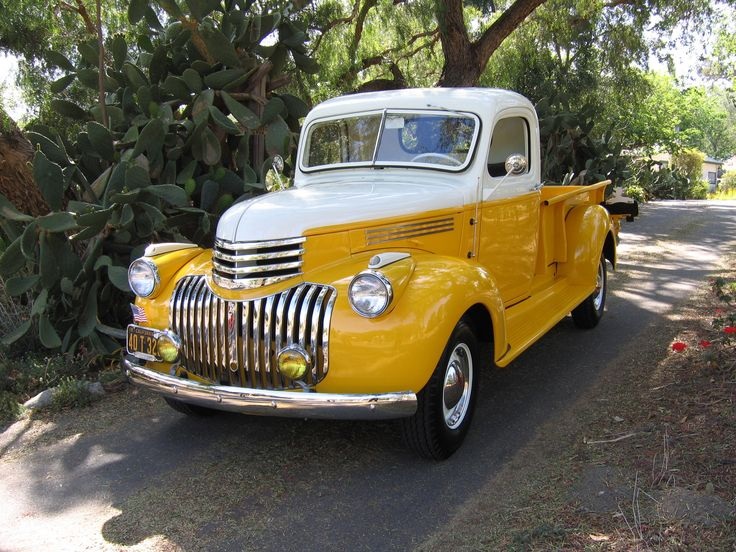 1942 Chevy art deco truck