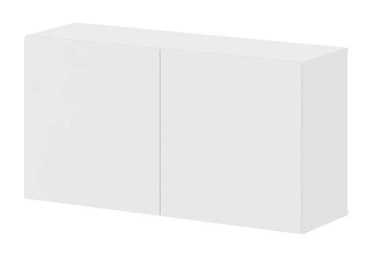 Collect Vægmodul - Smart vægmodul i hvidmalet look m. to rummelige hylder. Med dette stilfulde og minimalistiske vægmodul skaber du luft i rummet og så ser det samtidig godt ud. Reolen tilbyder desuden mange indretningsmuligheder – miks på kryds og tværs med andre reoler og skab dit helt unikke udtryk