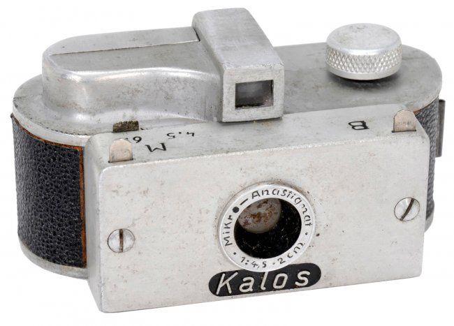 "Rare ""Kalos"" Subminiature Camera, 1950 : Lot 358"