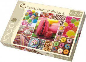 Puzzle 1000 Trefl 10357 Decor Cukierki - Kolaż