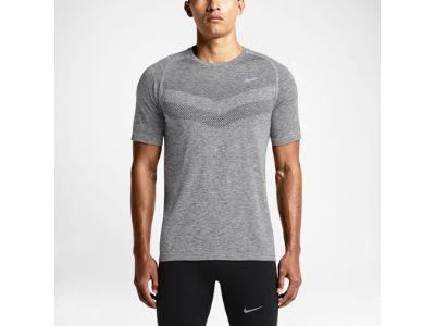 Nike Dri-FIT Knit Short-Sleeve Camiseta de running - Hombre