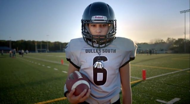 Vote 4 Karlie!  Super Bowl finalist for Together We Make Football contest!  #twmf.  KARLIE's story is a #TWMF Finalist! View the story & vote today: https://www.togetherwemakefootball.com/stories/4846