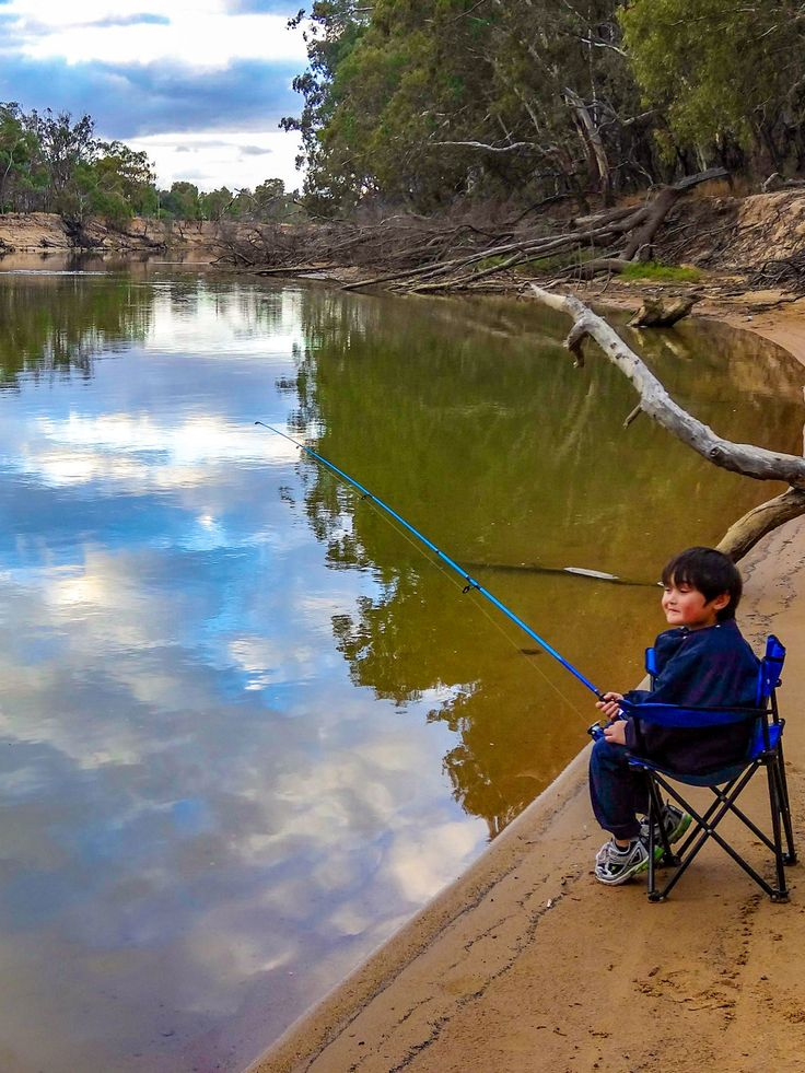 Murray River in Echuca sure makes a great fishing spot.
