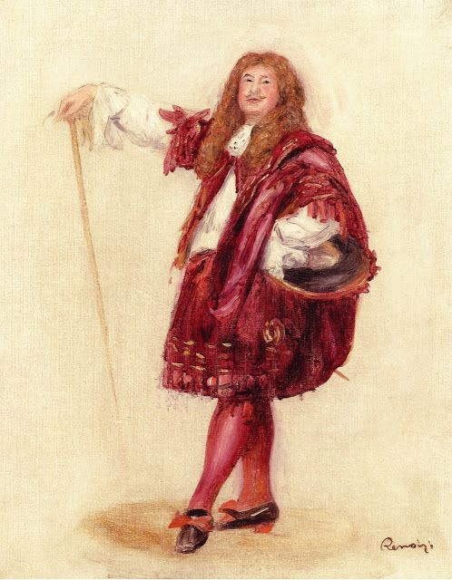 Pierre Auguste Renoir (1841-1919) - Dorival Dressed as Le Bourgeois Gentilhomme  - 1900 -Private Collection