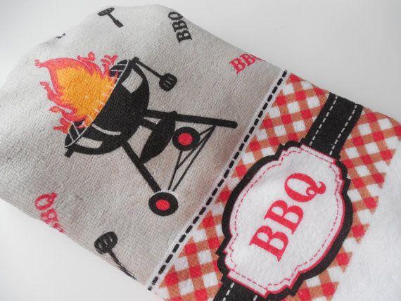 BBQ Küche Handtuch  hängende Handtuch  von ShelleysCrochetOle