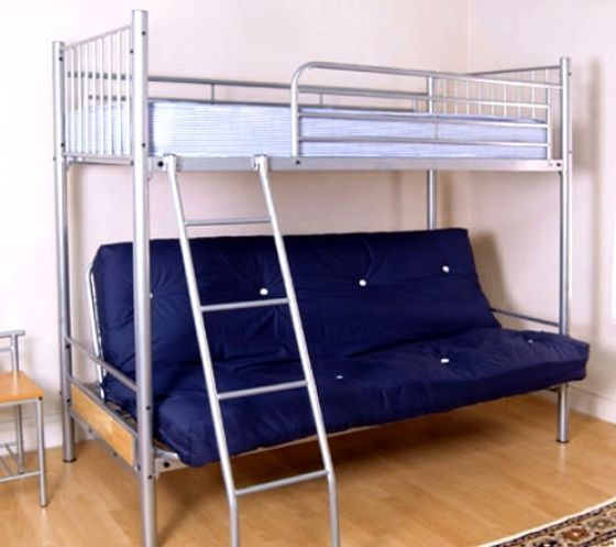 Ikea Futon Bunk Bed For More Space Rustic Home Bed Futon Bunk