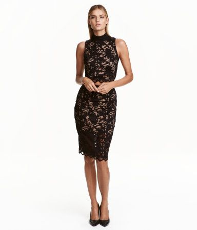 Lace Skirt | Black | Ladies | H&M US