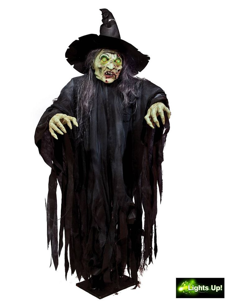 giant standing witch prop wholesale witch props for halloween - Halloween Decorations Witch