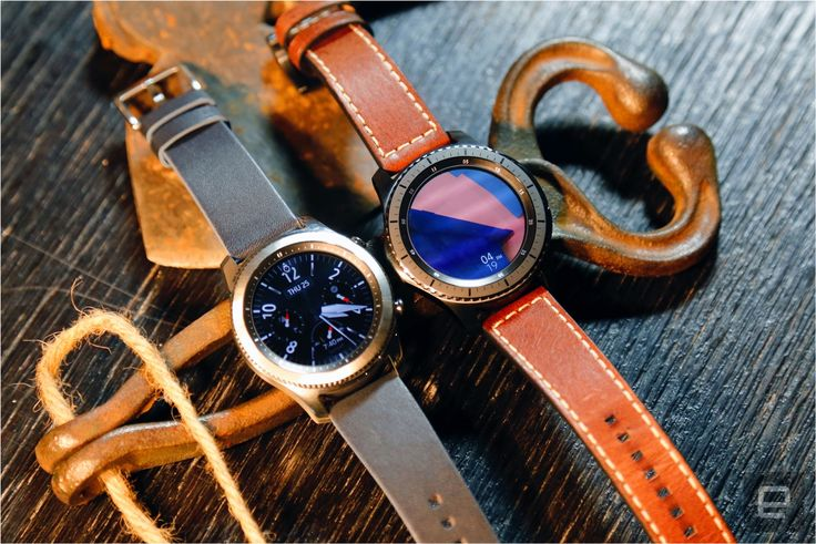 Samsung Gear S3 Classic and Frontier smartwatches.