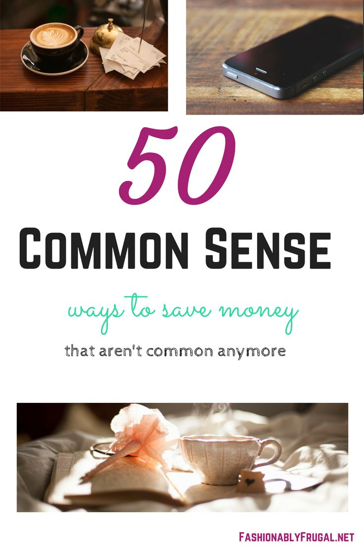 50 ways to save money on a limited income