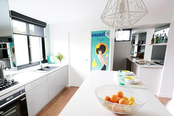 The Block Sky High: Room Reveal: Bec + George's kitchen
