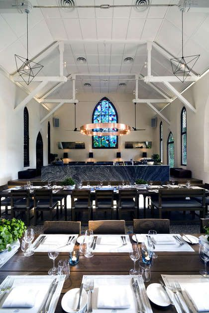 Culinary Church Conversions: The White Rabbit Restaurant