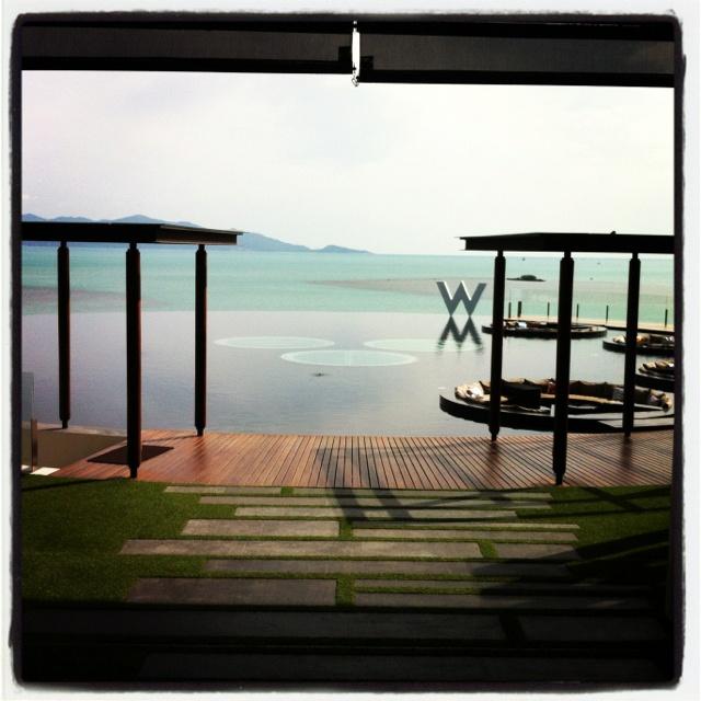 W Retreat, Koh Samui, Thailand.