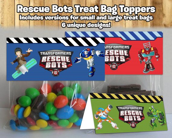 Make your Transformers Rescue Bots Birthday Party even cooler by using