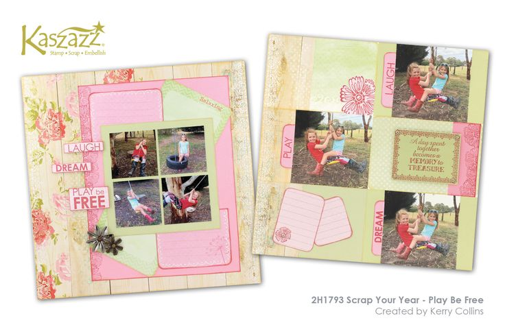 This project will show you how to create a page and pocket scrapbook layout using Moment By Moment - Summer Cards, multiple photos and allowing room for journaling.