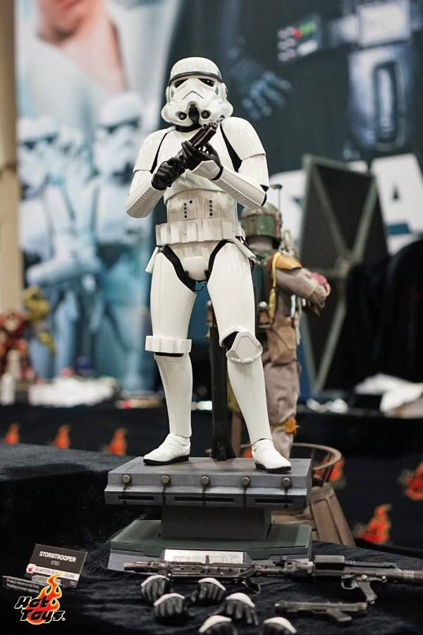 Hot toys Display at San Diego Comic Con. Stormtrooper
