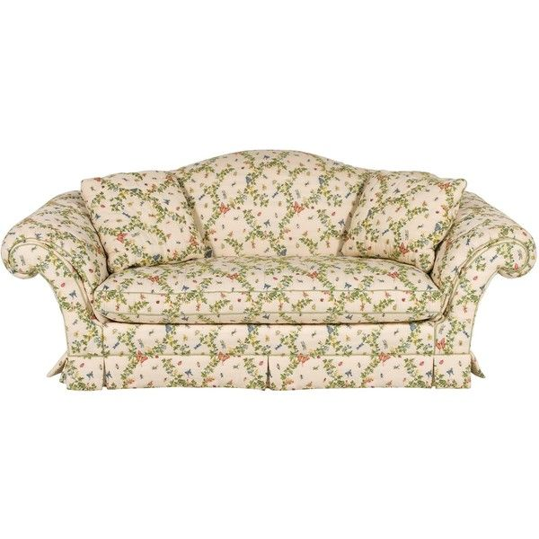 Pre Owned Baker Flora U0026 Fauna Sofa ($1,895) ❤ Liked On Polyvore Featuring