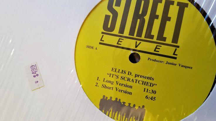 """Ellis-D  It's Scratched / Dub Break JUNIOR VASQUEZ SOUND FACTORY Shrinkwrap 12"""" #House"""