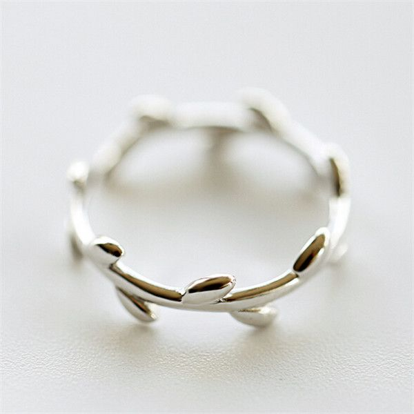 Teen Fashion 925 Silver Olive Branch Open Pinky Ring  http://www.jewelsin.com/p-teen-fashion-925-silver-olive-branch-open-pinky-ring-1164