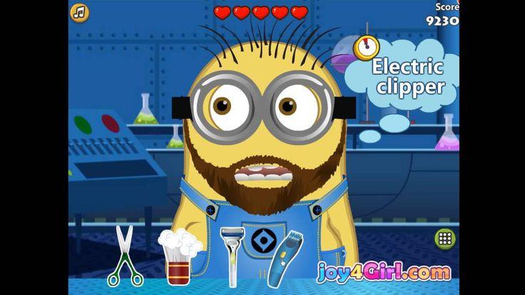 Minion At Beard Salon [Salon Games]