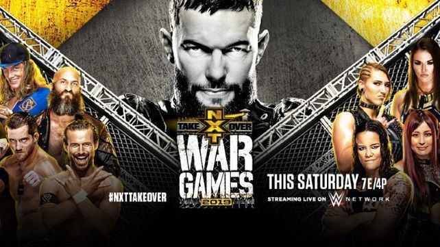 Watch Wwe Nxt Takeover Wargames 2019 11 23 2019 Full Show Online Free Nxt Takeover Wrestling News Wow Wrestling