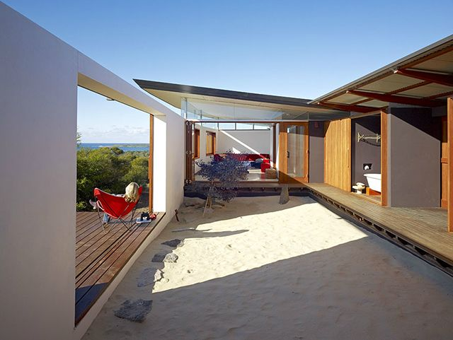 274 best house australasia images on pinterest for Residential landscape architects melbourne