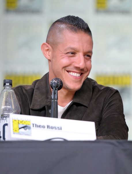 Theo Rossi Photos - Actor Theo Rossi during Netflix/Marvel's 'Luke Cage' panel at Comic-Con International 2016 at San Diego Convention Center on July 21, 2016 in San Diego, California. - Netflix/Marvel's Luke Cage at San Diego Comic-Con 2016  NETFLIX